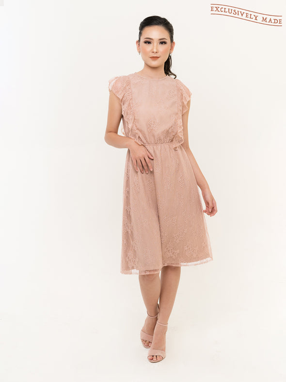 Loxley Ruffle Dress