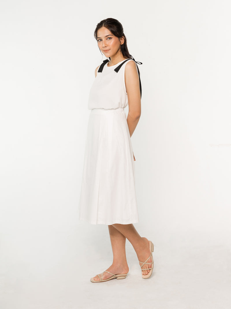 Magnolia Skirt - White