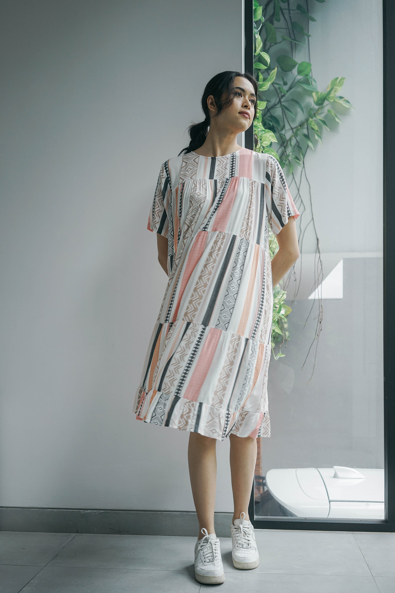 Orli Dress Maroccan Print
