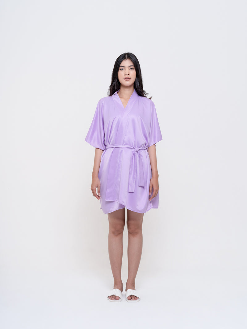 Renee Set Satin - Lilac Lavender