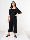Sasha Off Shoulder Set - Black
