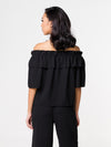Sasha Off Shoulder Top - Black