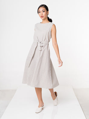 Sienna Dress - Grey