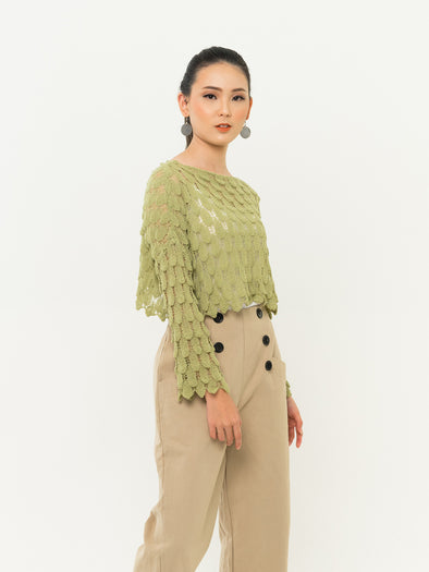 Syiren Top - GREEN