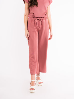 Talia Knit Pants - Dusty Pink