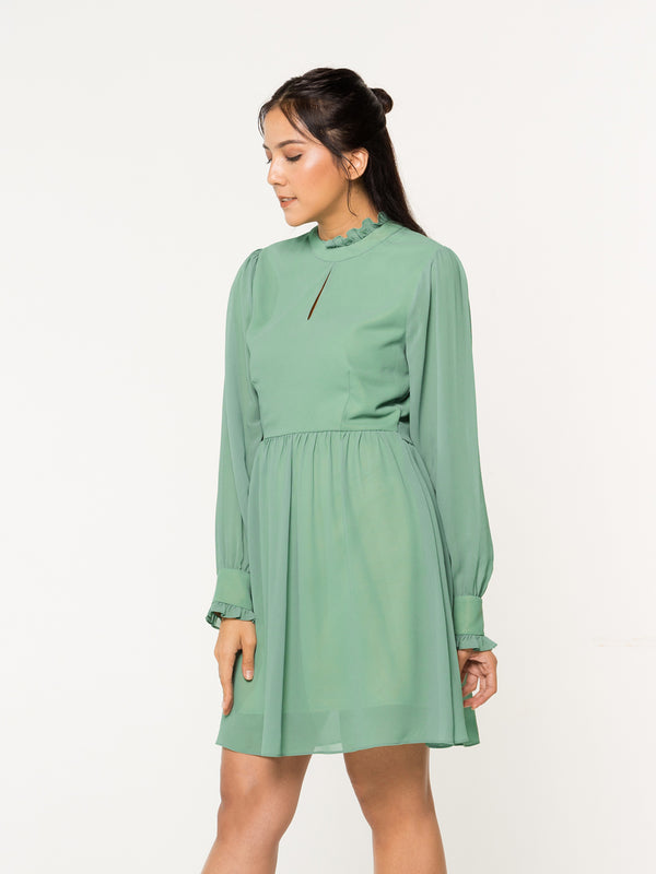 Tillia Dress - Green