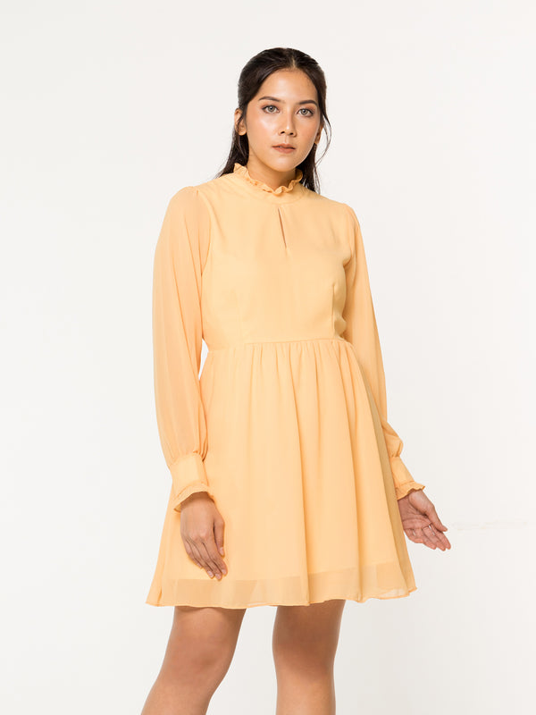 Tillia Dress - Yellow