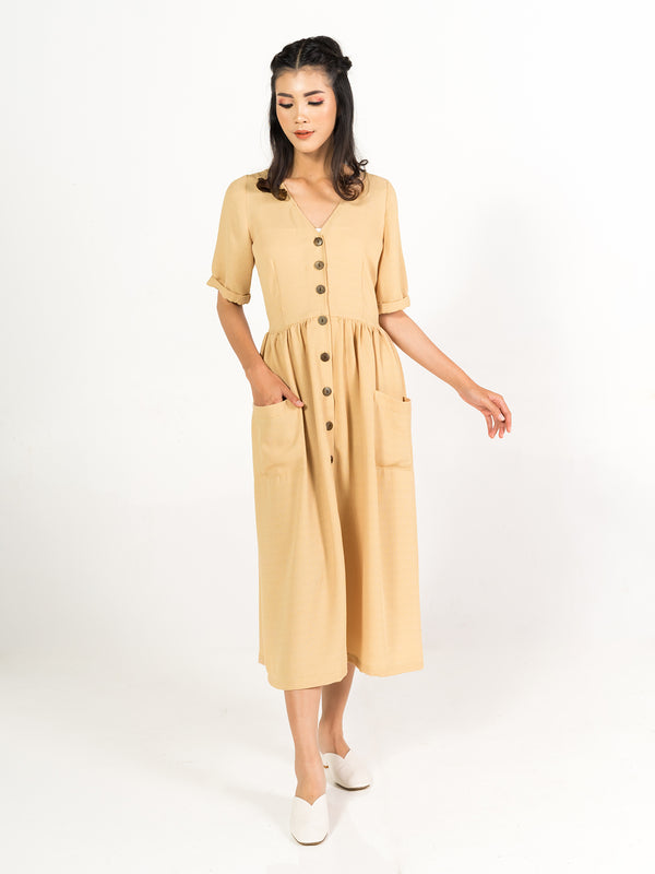 Vera Dress - Cream