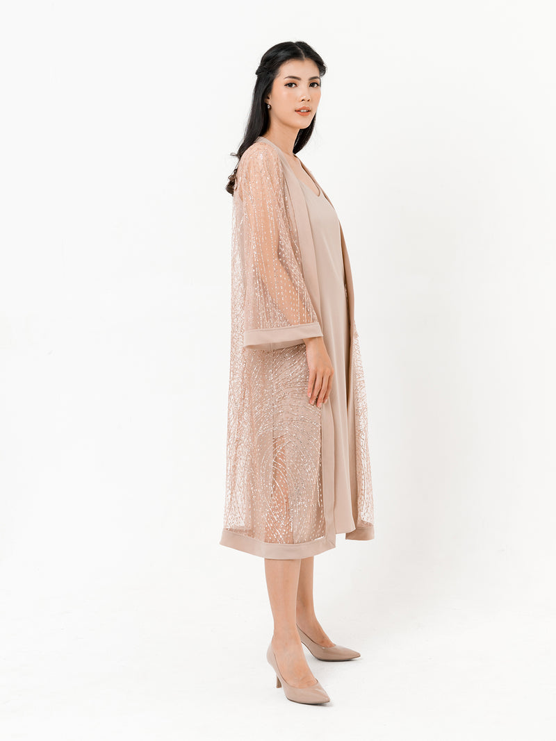 Zyanne Diamond Robe (OUTER ONLY)