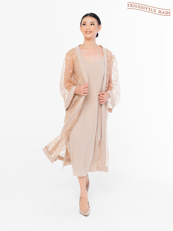 Zoey Roots Embellished Robe (OUTER + INNER)