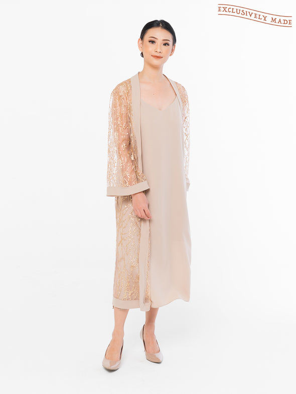 Zoey Roots Embellished Robe (OUTER ONLY)