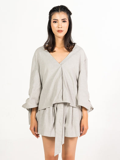 Winona Top - Grey