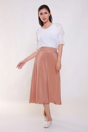 Gracy Pleated Skirt - Cooper