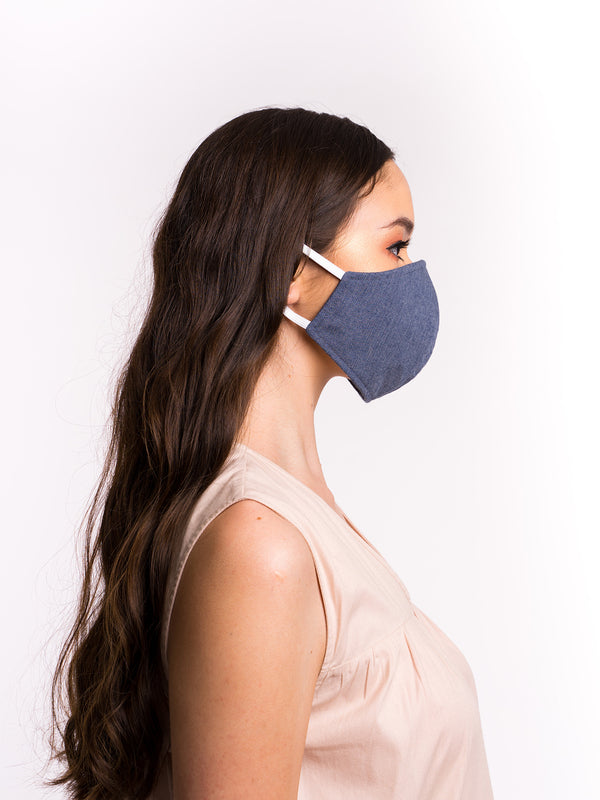 Kai Dark Denim Mask