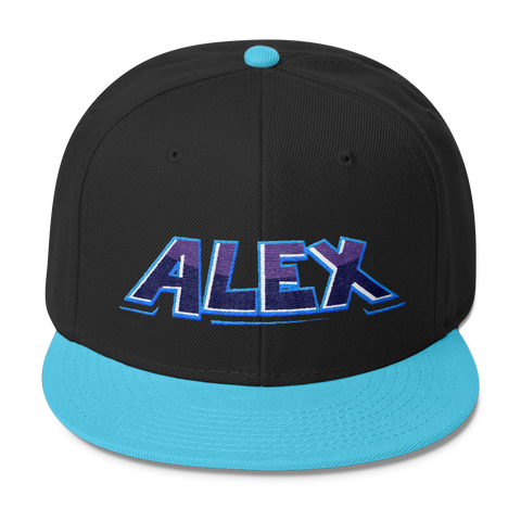 Alex Embroidered Snapback