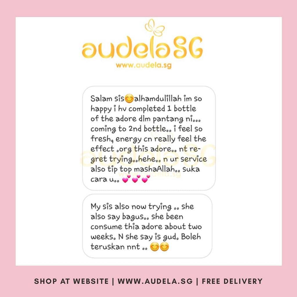 NO REGRET TRYING ADORE! Thank you Sisthur💕 Alhamdulillah..