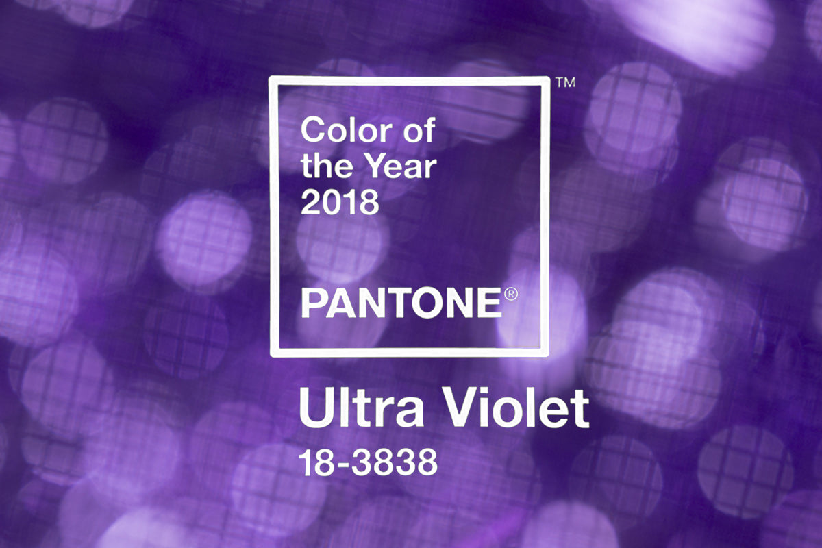 PANTONE COLOUR OF THE YEAR - ULTRAVIOLET