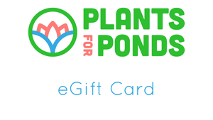 Plants for Ponds Gift Card