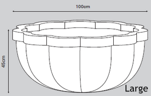 Citadel Planter Dimensions - Plants for Ponds