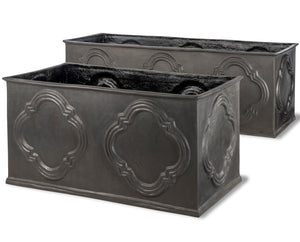 Hampton Fibreglass Planter Trough - Container Pot/Ponds - Plants for Ponds Ltd.
