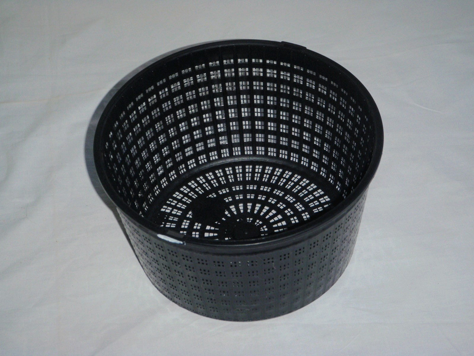 4 X 13cm round plastic aquatic pots baskets for water plants and pond /& guide