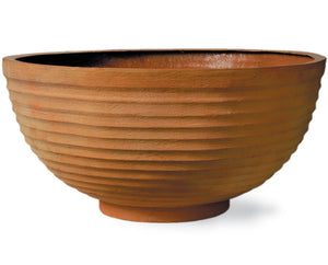 Thames Fibreglass Planter Bowl - Container Pot/Ponds - Plants for Ponds Ltd.
