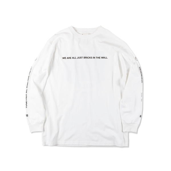 "L/S TEE ""ALL BRICKS"""