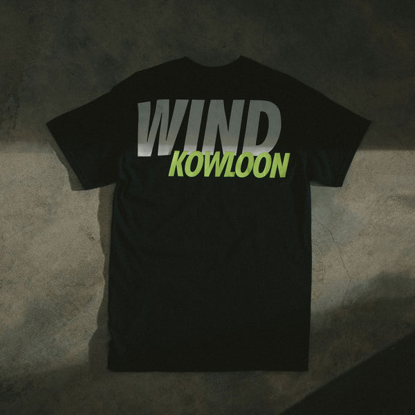 WIND AND SEA KOWLOON - BLACK TEE