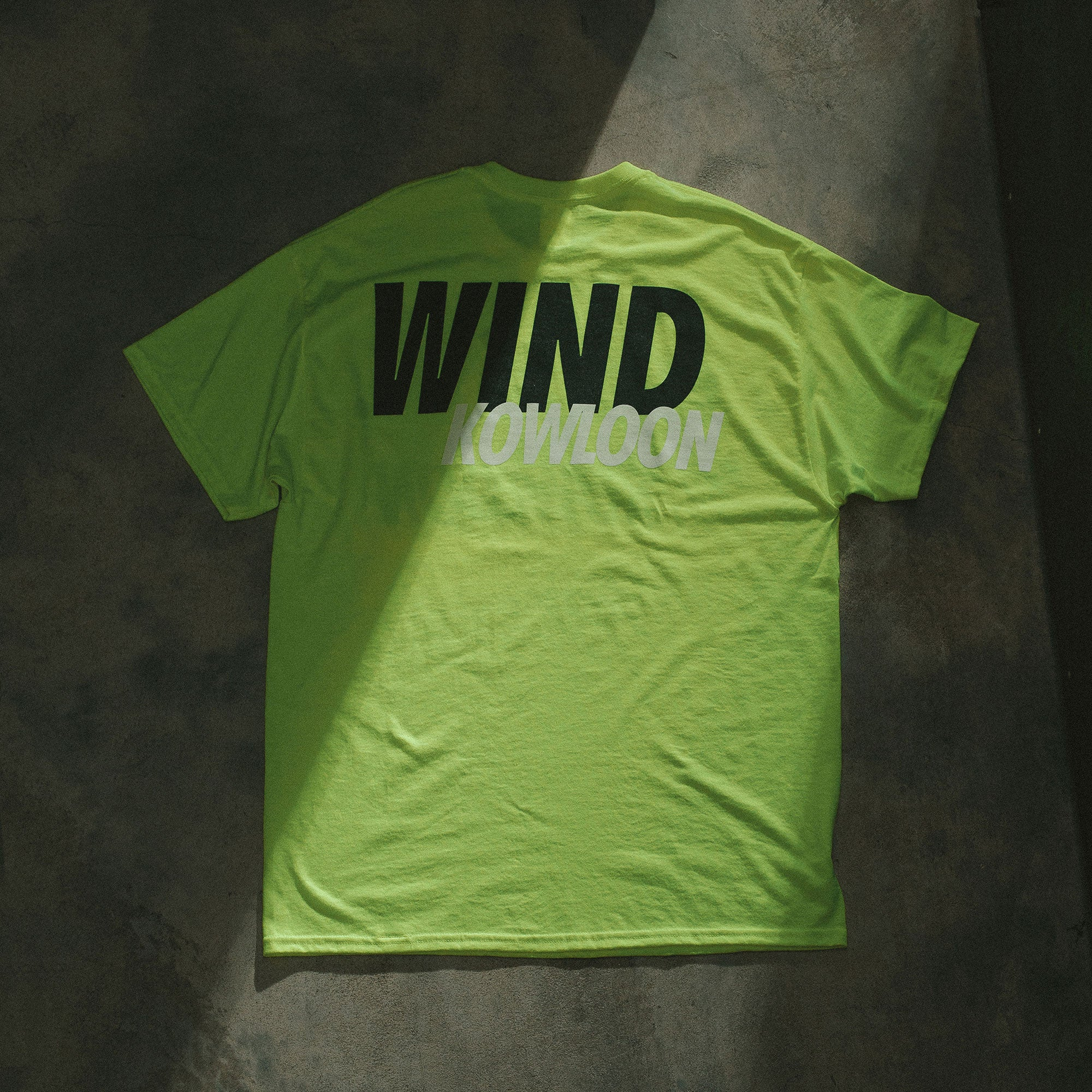 WIND AND SEA KOWLOON - GREEN TEE