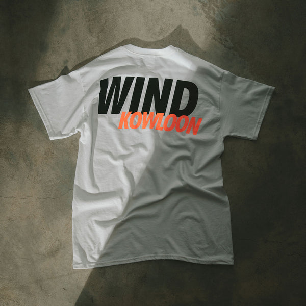 WIND AND SEA KOWLOON - WHITE TEE