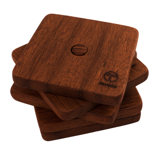 Coasters with Stand - Teakore
