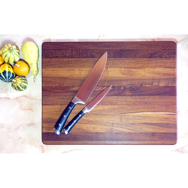 Teakore Classic teak Cutting Board - handcrafted, foodsafe, wooden