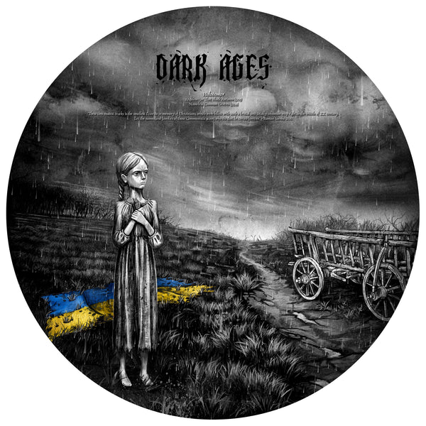 From The Bogs Of Aughiska / Dark Ages Split Picture Disk Vinyl