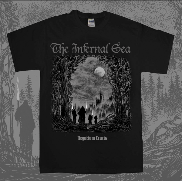 The Infernal Sea - 'Negotium Crucis' - T-Shirt *PRE ORDER*