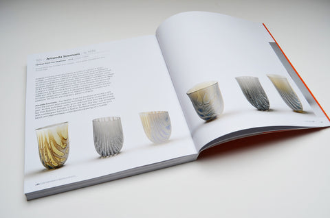 contemporary british crafts book amanda simmons glass