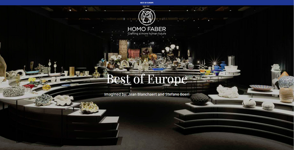 Homo Faber Best of Europe Image by Homo Faber 2018