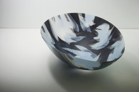 Collision Risk (Tern) 2018, collect 2018, kilnformed glass, amanda simmons