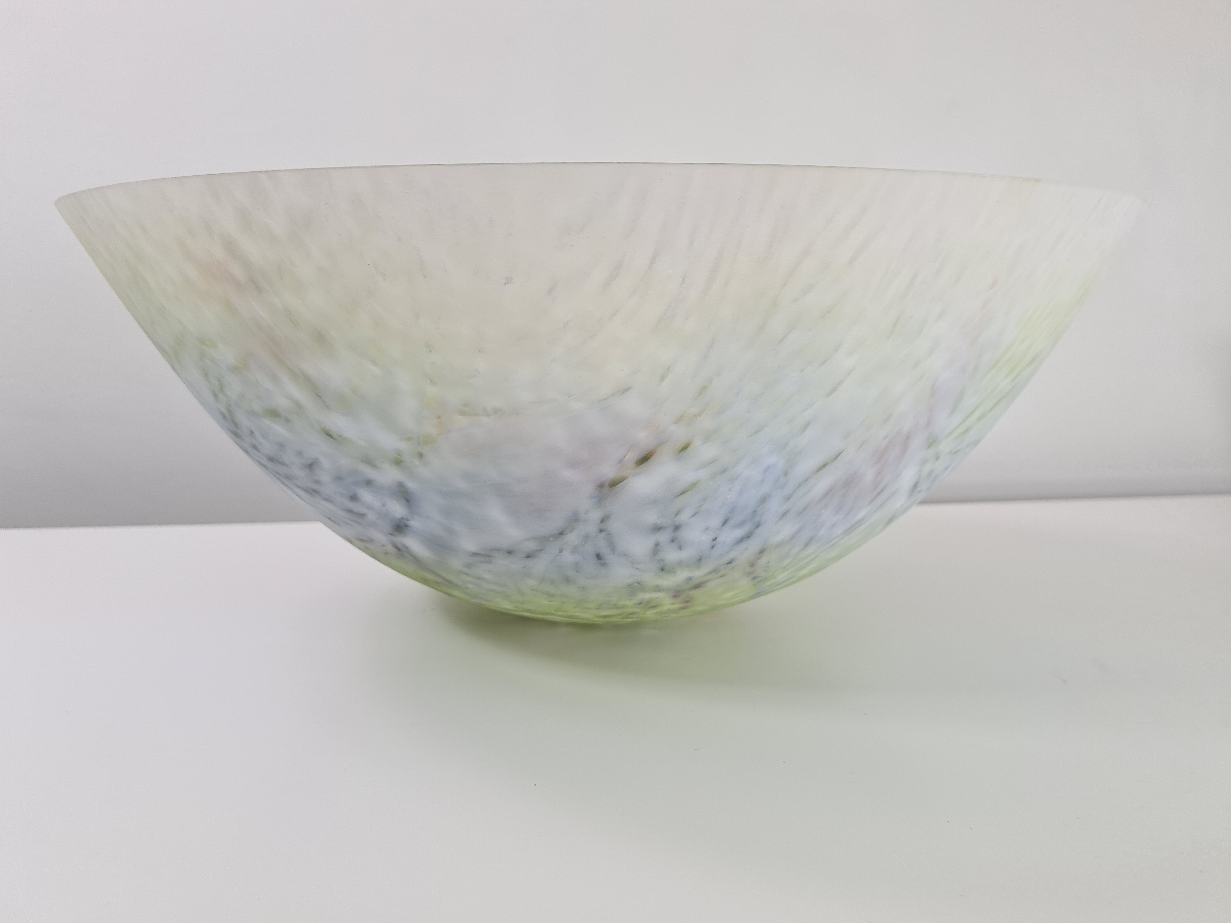 Moss Bowl (periwinkle)