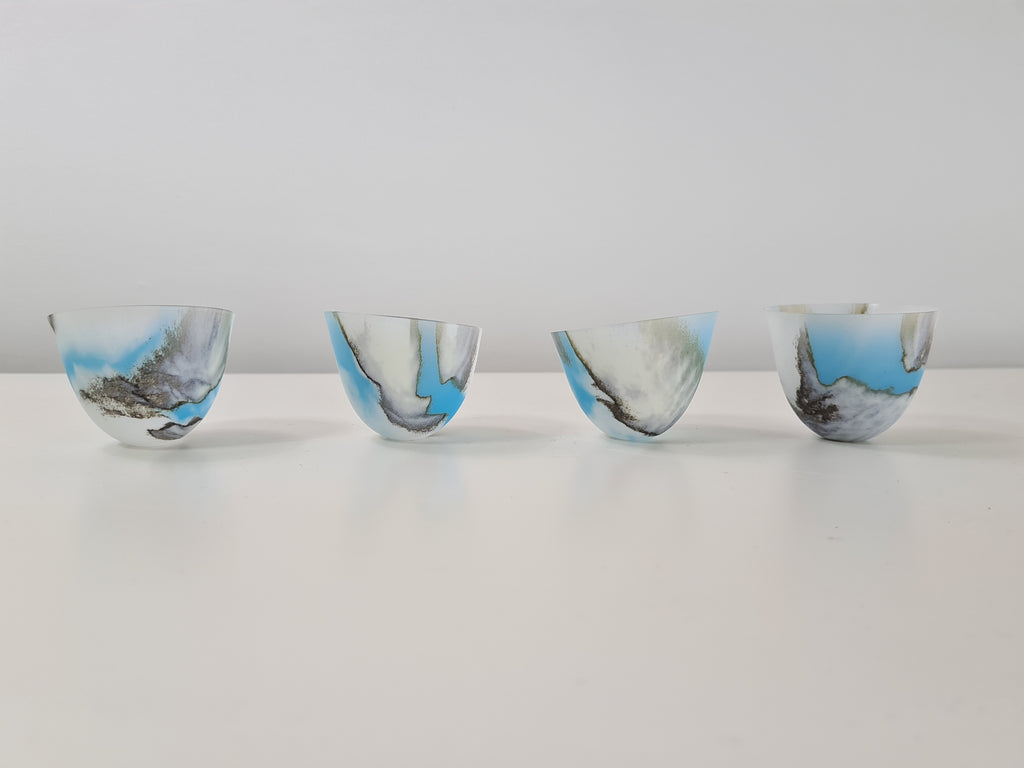Skyform Small vessel set of 4