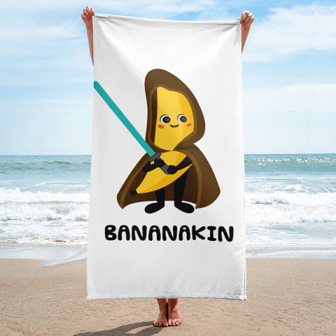 Bananakin Sky Walker Towel