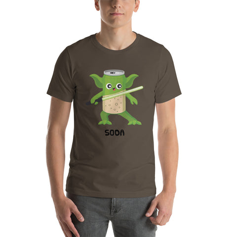 YODA + SODA Short-Sleeve Unisex T-Shirt