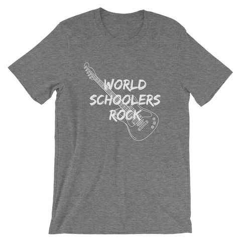 WORLDSCHOOLERS ROCK Short-Sleeve WOMENS T-Shirt