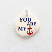 ciondolo Almas Gioielli You are my anchor