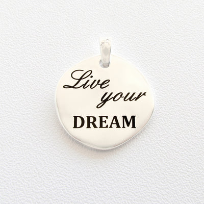 ciondolo Almas Gioielli Live your dream