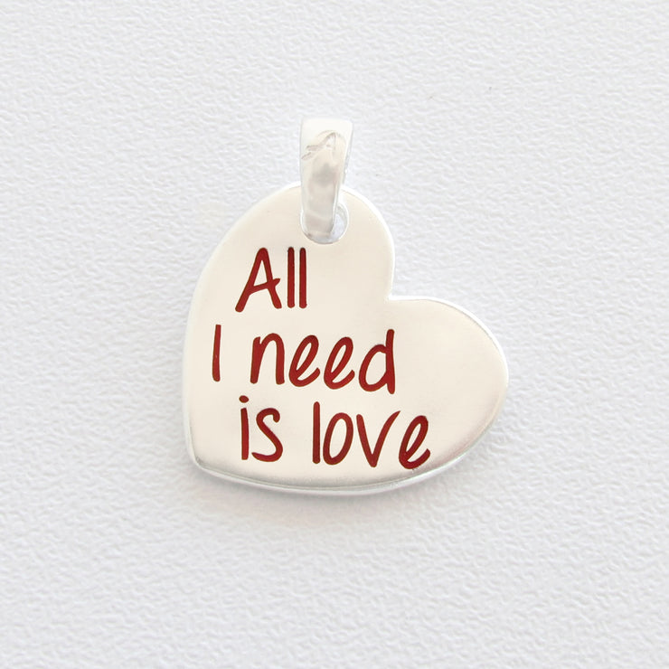 Ciondolo Almas Gioielli All I need is love
