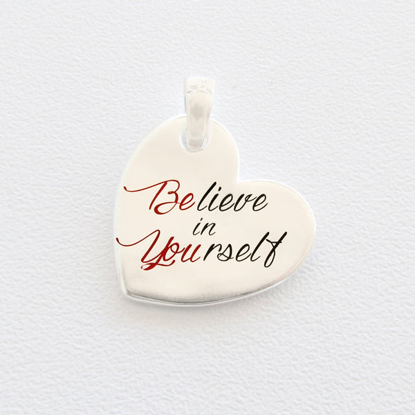 ciondolo Almas Gioielli Believe in yourself