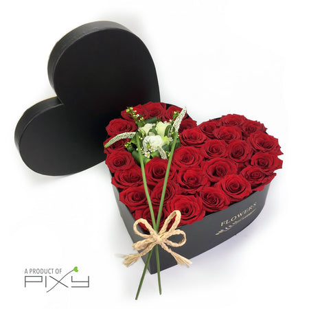 Black Charm Ferrero Heart Box