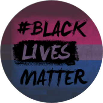 Badges - Black Lives Matter Bi+ Colours