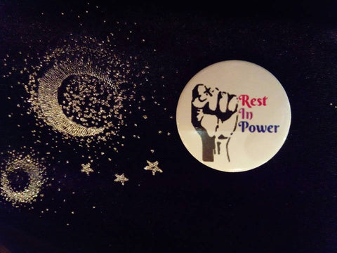 Badges - Jon Hanna Rest In Power