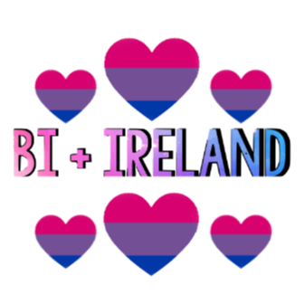 Badges -Bi+ Ireland Hearts